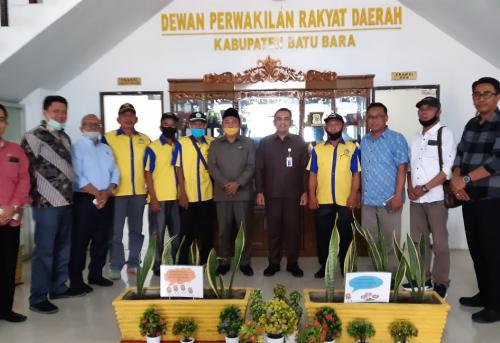 Komisi 2 DPRD Kabupaten Batu Bara Menerima Audensi Dari Asosiasi Kontak Tani Nelayan Andalan (KTNA) Kabupaten Batu Bara