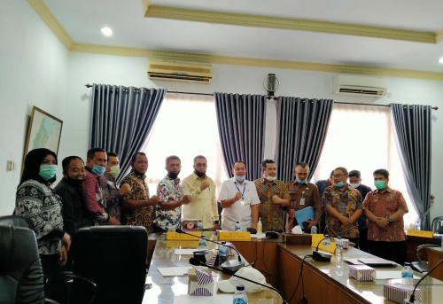 Koordinator Komisi 1 DPRD Kabupaten Batu Bara Pimpin Kunjungan Kerja Ke Balai Wilayah Sungai (BWS) Sumatera II Provinsi Sumatera Utara